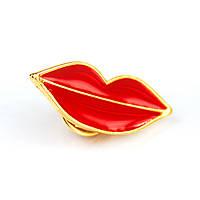 Значок Красные губы Pin Up Hot Punk Collection