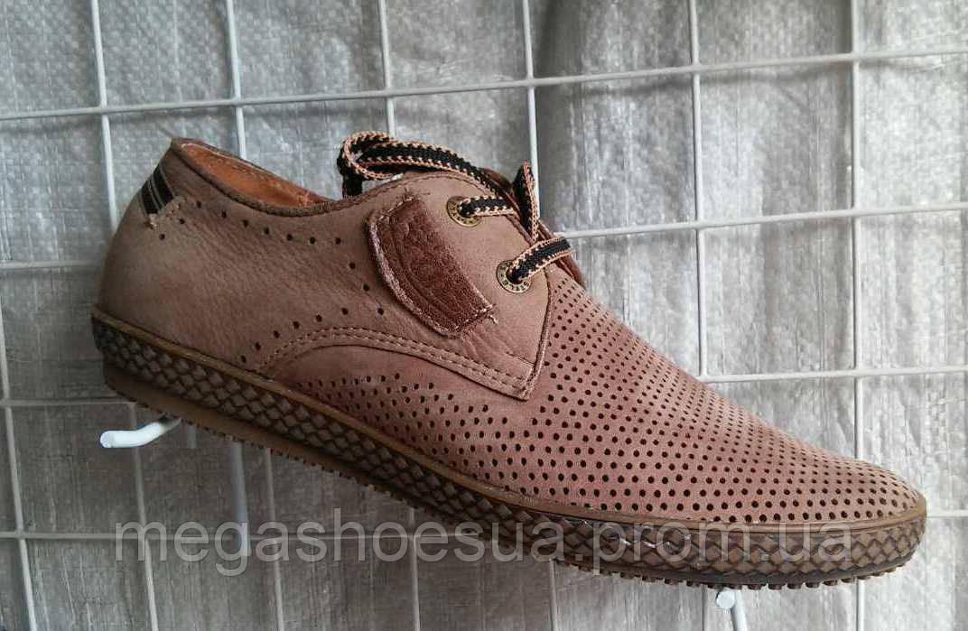 5efd5421ec2c Мужские туфли летние YDG Bellini 7132 с натуральной кожи - Интернет-магазин  украинской обуви MegaShoes