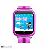 Детские Смарт-часы c GPS - Q100s (pink)