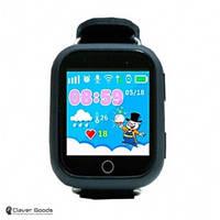 Детские Смарт-часы c GPS - Q100s (black)