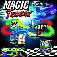 Детская игрушечная дорога Magic Tracks, Игра Конструктор Magic Tracks автодорога 165 деталей