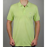 Мужская футболка-поло GANT 20892 салатовая