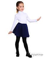 Шкільна спідниця синього кольору