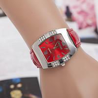Новый стиль Часы женские Geneva (красные)