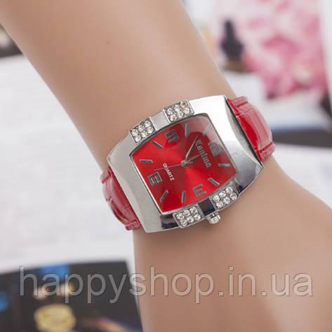 Новый стиль Часы женские Geneva (красные), фото 2