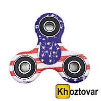 """Спиннер """"Американский флаг"""" Hand Spinner Fidget Toy   Вертушка с подшипниками   Хендспиннер"""
