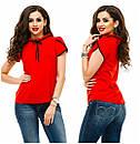 Блузка модная  42-48 в расцветках недорого , фото 3