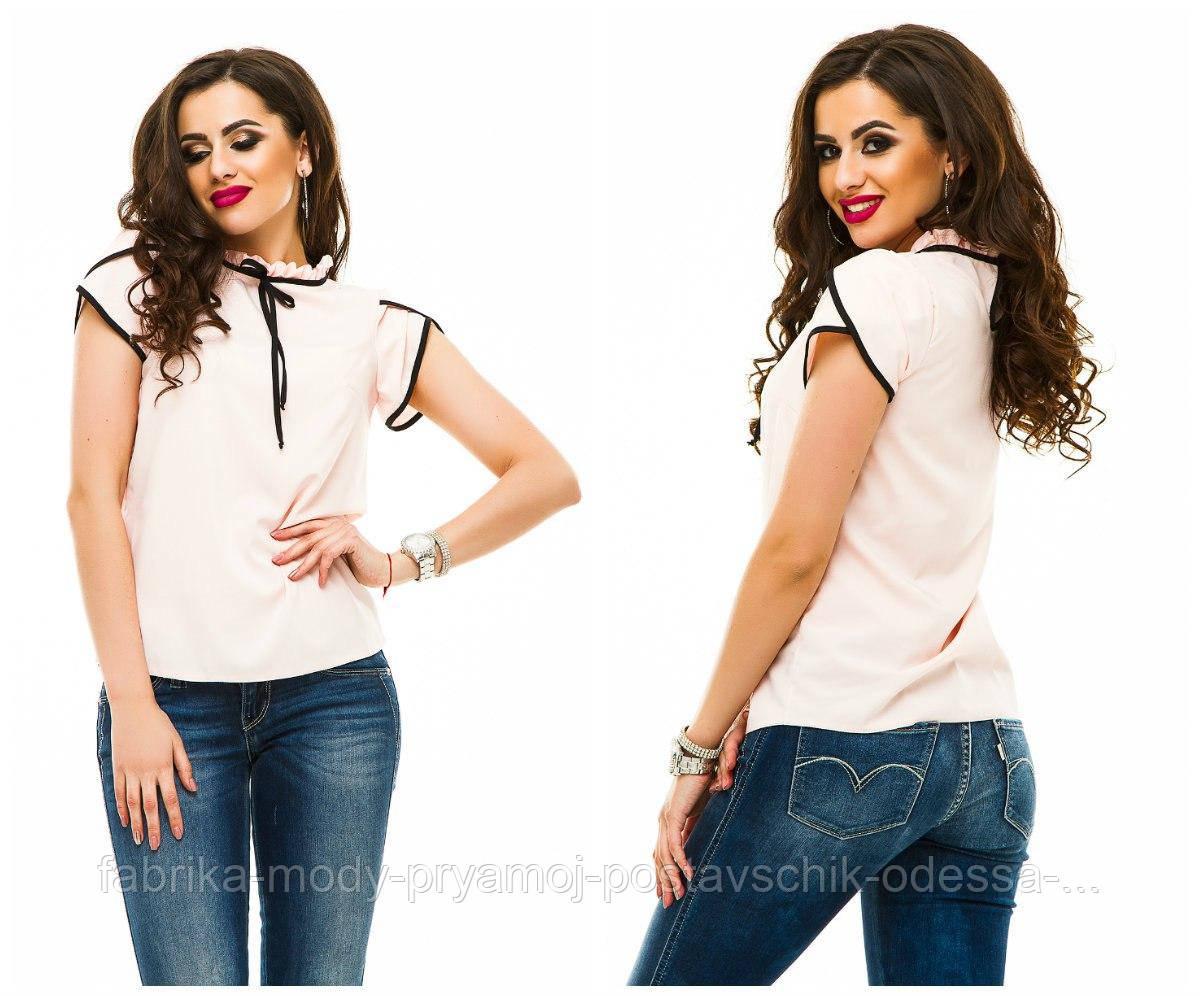 Блузка модная  42-48 в расцветках недорого