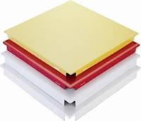 Плита кассетная алюминиевая 300*300*0,64 (мм) (Прямоугольная) кроме А076