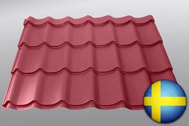 Металочерепиця — TOPAZ (Sweden, 0.5mm)