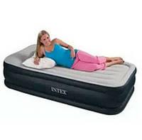 Надувная односпальная кровать Intex 64132 (99х191х42 см.)Доставка по Украине!