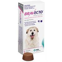 Бравекто для собак 40-56 кг, Жевательная таблетка для защиты собак от клещей и блох