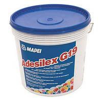 Двокомпонентна епоксидно-поліуретановий клей для гумових,ПВХ покриттів Adesilex G19.10 кг,Mapei