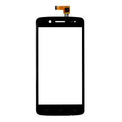Сенсор (тачскрин) Prestigio MultiPhone 5507 Duo черный