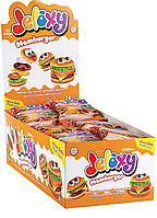 Желейная конфета Гамбургер Jelaxy 20 г 24 шт