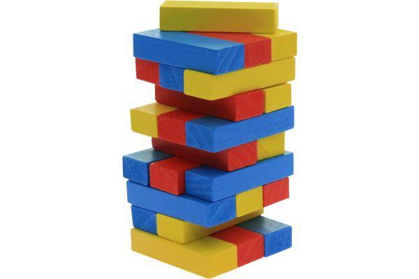 Goki Игра Дженга Разноцветная башня HS973