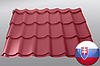 Металочерепиця — TOPAZ (Slovakia, 0.45mm)