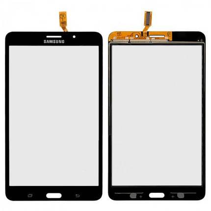 Сенсор (тачскрин) для Samsung T231 Galaxy Tab 4 7.0 3G черный, фото 2
