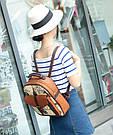 Рюкзак - портфель женский винтажный., фото 3