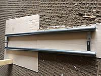 Пороги труба Mercedes Vito 1996-2003 крашенный молотковый