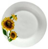 Тарелка десертная Подсолнухи 19 см Оселя, 21-206-032