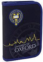 Пенал с 2-мя отворотами 1 Вересня Oxford black 531384