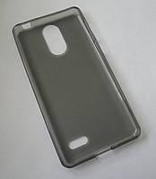 Чехол бампер силиконовый Leagoo M5 серый