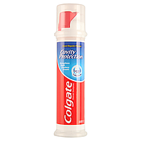 Зубная паста с дозатором Colgate cavity protection toothpaste 100мл