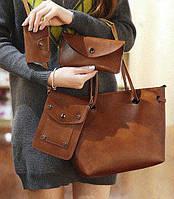 Стильный набор сумок для современной девушки. Отличный комплект. Хороший подарок. Доступная цена. Код: КГ1394