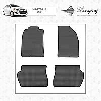 Автомобильные коврики Stingray Mazda 2 2002-