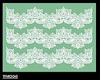 Коврик силиконовый для кружевного декора №6 (300*400мм)