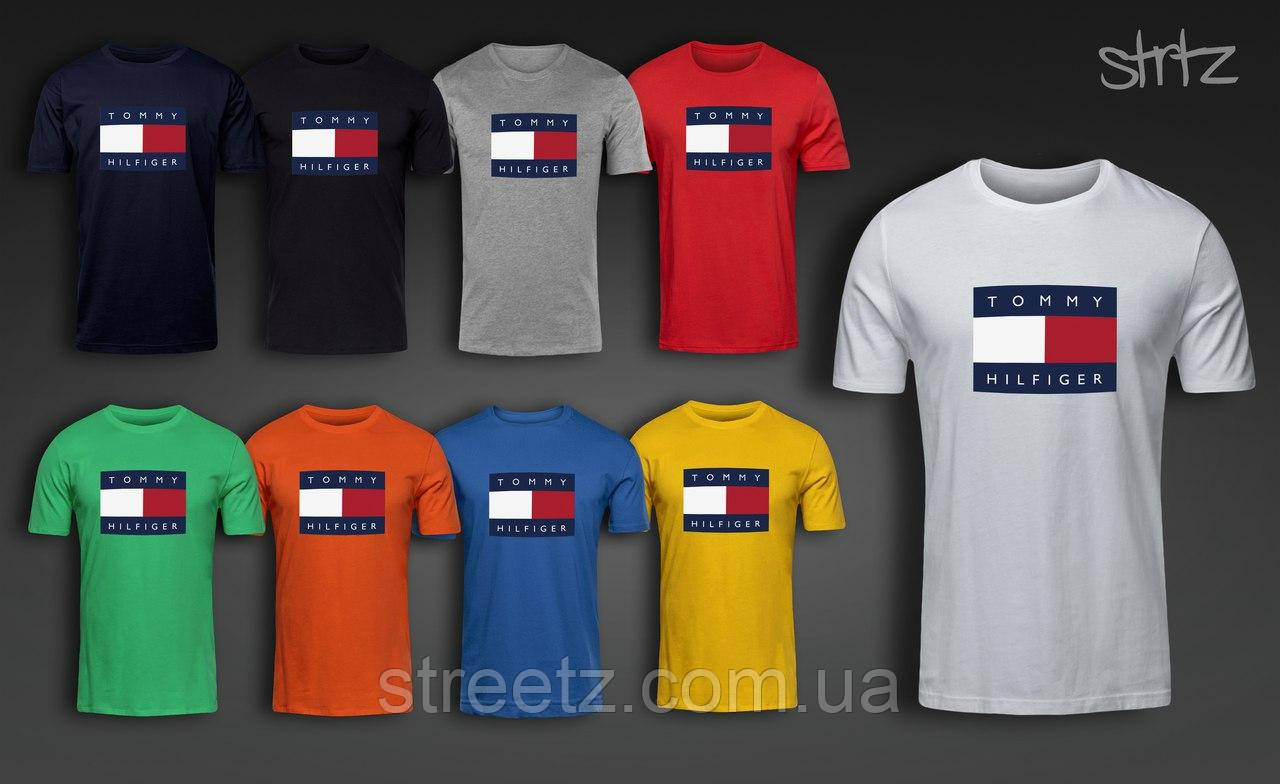 Мужская футболка Tommy Hilfiger T-Shirt - Streetz в Полтаве 5f8a1978a1460