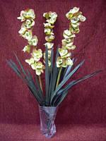 Цветы искусственные Орхидея (цвет зеленый)