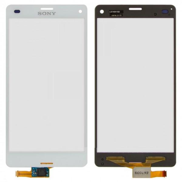 Сенсор (тачскрин) для Sony D5833 Xperia Z3 Compact белый