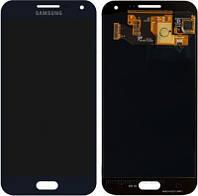 Дисплей (экран) для Samsung E500H/DS Galaxy E5 + с сенсором (тачскрином) Оригинал черный