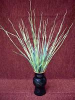 Искусственные цветы трава Мискантус (тонкая зеленая)