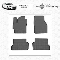 Автомобильные коврики Stingray Mazda 3 I BK 2003-2008