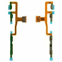 Шлейф для Sony Xperia ZL C6502/C6503/C6506 c кнопкой включения, боковыми клавишами