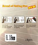 Шнур Kaida Braid Line переріз 0,18, 110м, фото 2