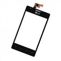 Сенсор (тачскрин) LG E615 Optimus L5 Dual Black