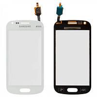Сенсор (тачскрин) для Samsung S7582 Galaxy Trend Plus Duos белый