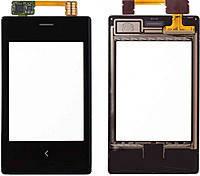 Сенсор (тачскрин) Nokia 503 Asha Dual Sim Black