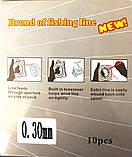 Шнур плетеный Кайда Braid Line сечение 0,30, 110м, фото 2