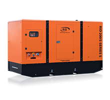 Дизель генератор RID 200 S-SERIES S (160 КВТ)