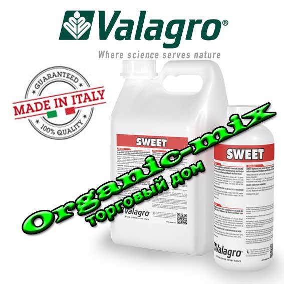 Sweet + / Свит 1 литр Valagro (Италия) БИОСТИМУЛЯТОР ИНТЕНСИВНОСТИ ОКРАСКИ ПЛОДОВ И УСКОРЕНИЯ СОЗРЕВАНИЯ.