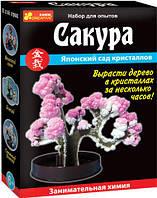 """Дерево из кристаллов """"Сакура"""""""