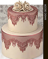 Коврик силиконовый для кружевного декора №5