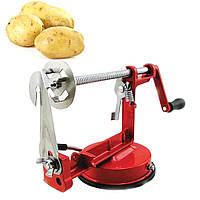 Бесплатная доставка Машинка для резки картофеля спиралью Spiral Potato Chips