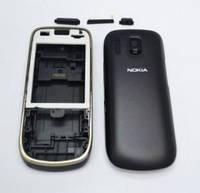 Корпус Nokia 202 Asha черный