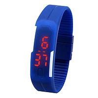 Спортивные Led - часы синие
